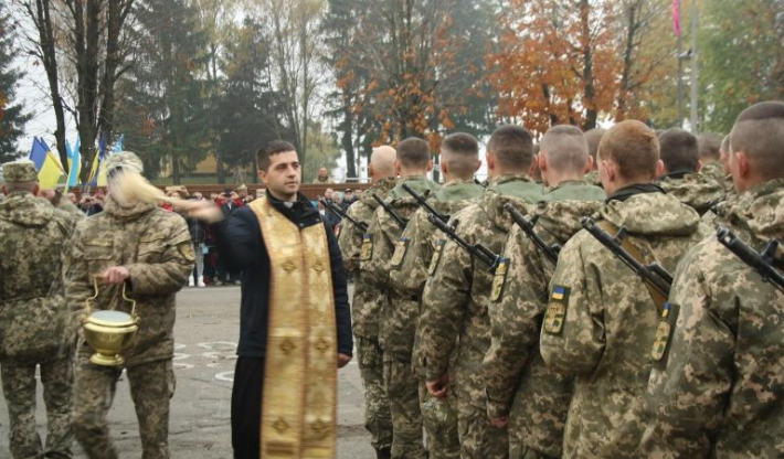 Присяга на вірність українському народу військовослужбовців у 184-му Навчальному центрі