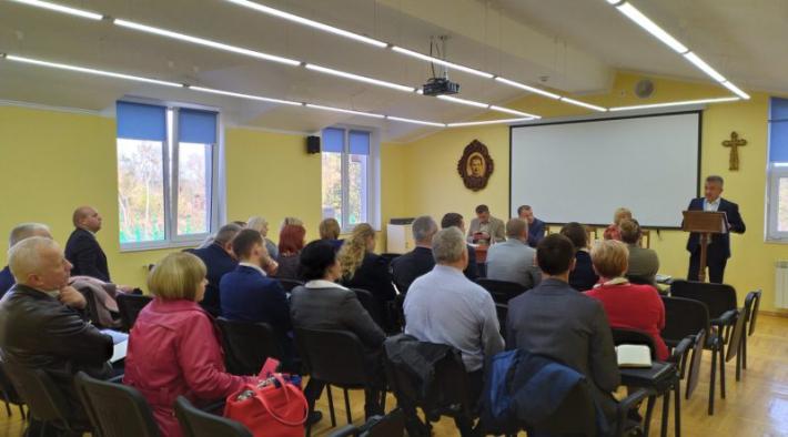 Згромадження салезіан у Львові відвідав заступник міністра освіти України