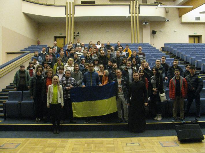 У Польщі український священик організував курс польської мови для українців