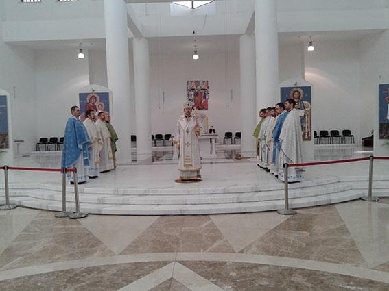 Владика Богдан (Дзюрах): «Працівники Патріаршої курії повинні стати голосом Церкви, яка закликає до прощення і примирення»