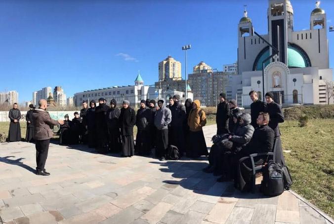 Студенти Львівської духовної семінарії здійснили паломництво до Києва