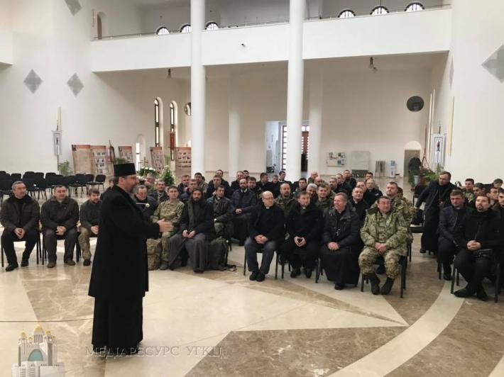 «Військовий капелан ‒ це знак присутності Бога в нелюдських обставинах», ‒ Блаженніший Святослав до військових капеланів УГКЦ