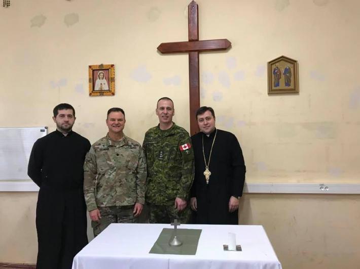 Капелани Збройних сил США і Канади ділилися досвідом зі своїми українськими колегами