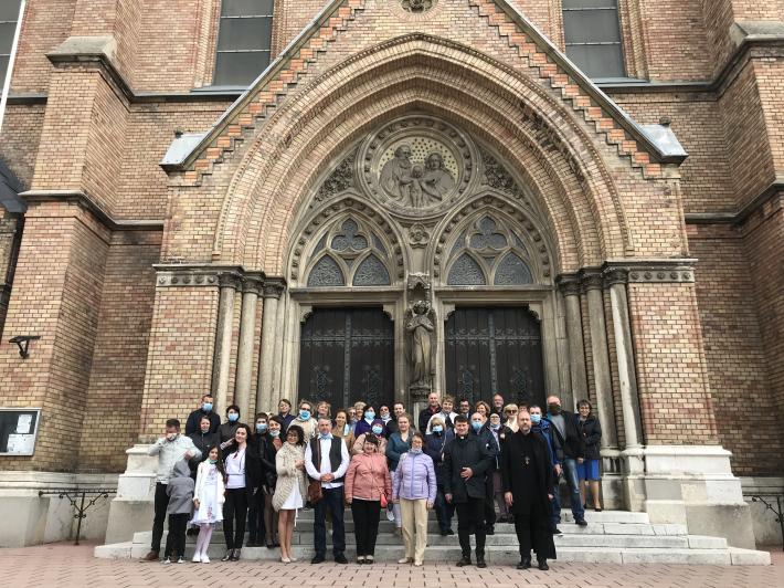 Кардинал Шенборн: «Нова громада для вірних УГКЦ – це свідчення живої надії для багатьох християн у Відні»