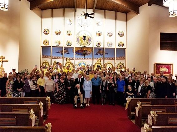 Церква Святої Анни УГКЦ в м. Остинтаун, штат Огайо (США), відсвяткувала золотий ювілей