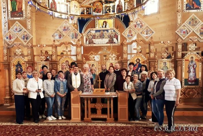 Учителі з Дрогобича відвідали Погінський монастир