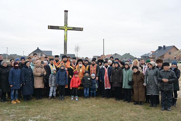 У Ковелі освятили наріжний камінь під будівництво храму бл. Василія Величковського