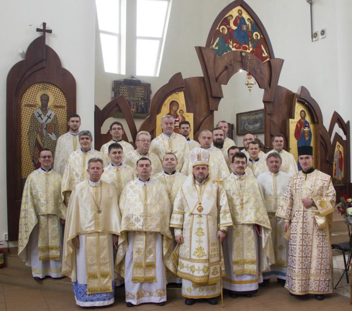 Священики Стрийського деканату подякували Богові за прожитий рік