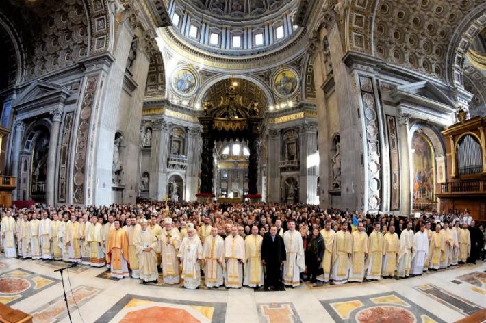 Відбулася традиційна різдвяна проща українців до папської базиліки Святого Петра у Ватикані
