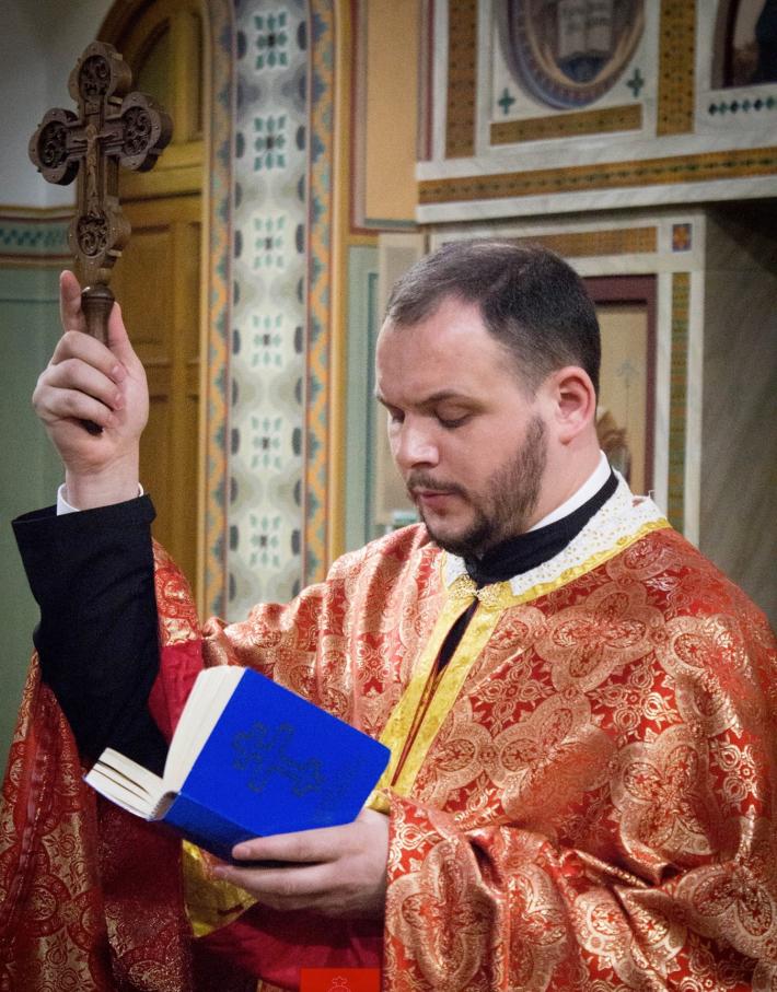 У Чорноморську відбулося представлення адміністратора парафії Cвятого пророка Іллі