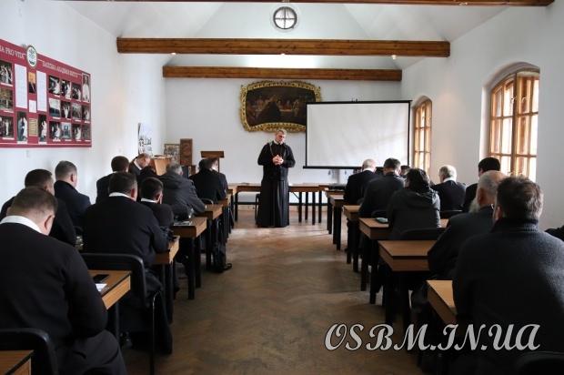 У провінційному домі отців василіан відбулися збори настоятелів