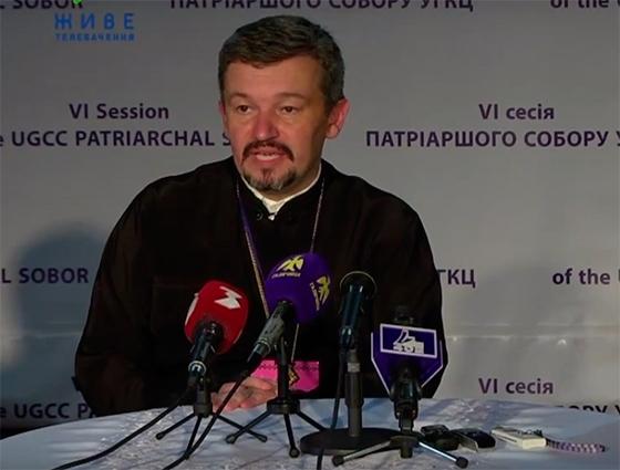 Секретар Патріаршого Собору, ректор ІФДС о. д-р Олег Каськів підбив підсумки під час брифінгу