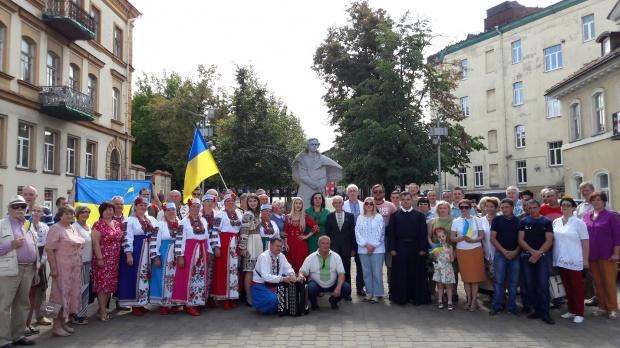 За Україну молилися у вільнюському храмі Пресвятої Трійці