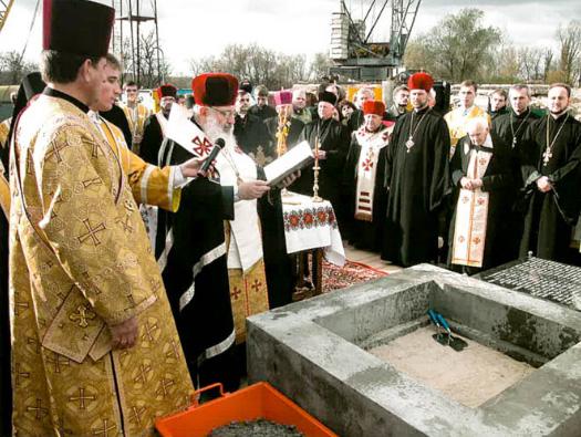 Вісімнадцять років тому освятили наріжний камінь Патріаршого собору Воскресіння Христового УГКЦ у Києві