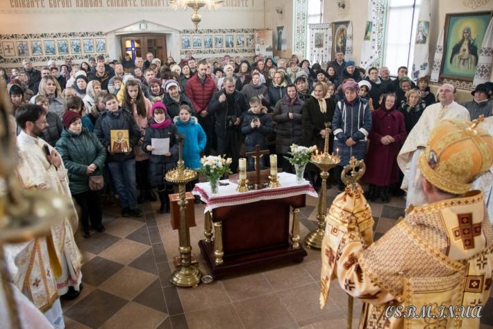 У василіанському монастирі м. Володимира-Волинського відбулися урочисті святкування з нагоди дня Святого священномученика Йосафата