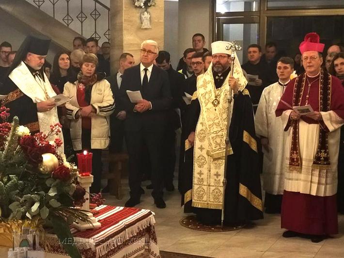 «Щоб світ увірував, а не згіршився», – Архиєпископ Клаудіо Гуджеротті під час молитви за єдність християн