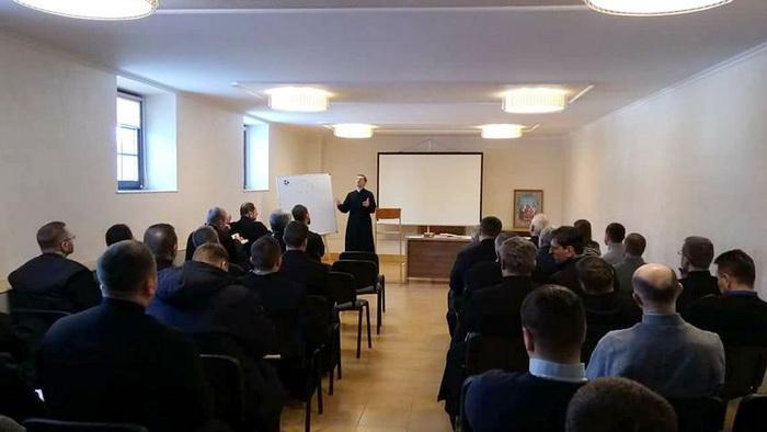 Доктор біблійних наук о. Іван Січкарик провів реколекції для медичних капеланів УГКЦ