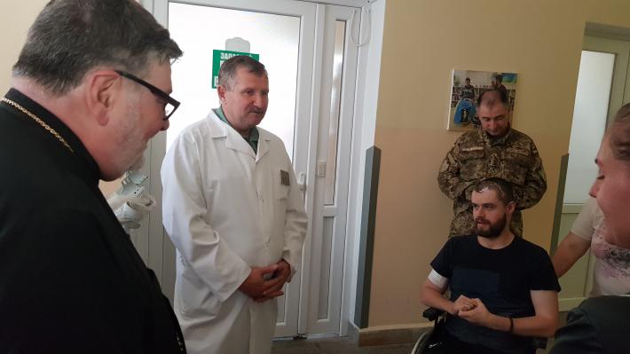 До військово-медичного клінічного центру завітала делегація з Америки