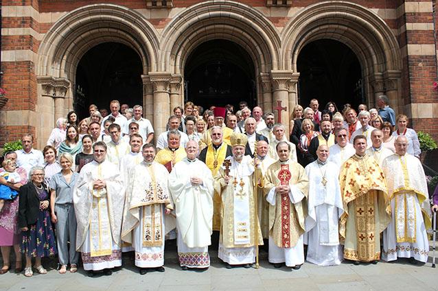 У Лондоні відзначили 50-річний ювілей освячення Катедри Пресвятої Родини