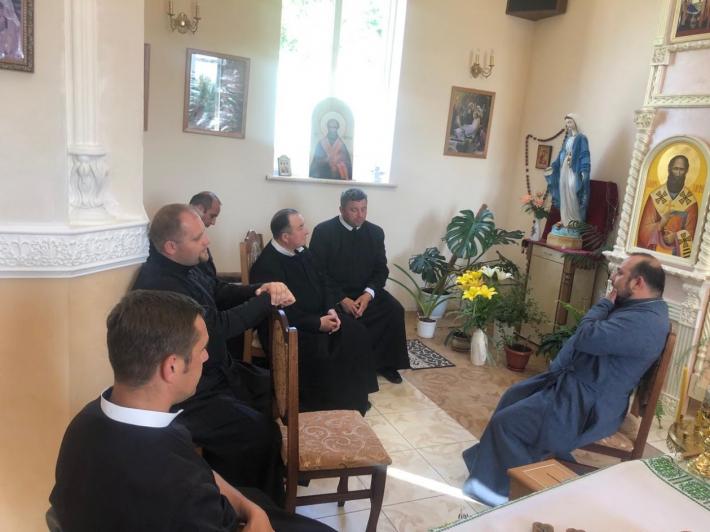 У Положево відбувся день духовної віднови та збори духовенства Володимир-Волинського деканату Луцького екзархату