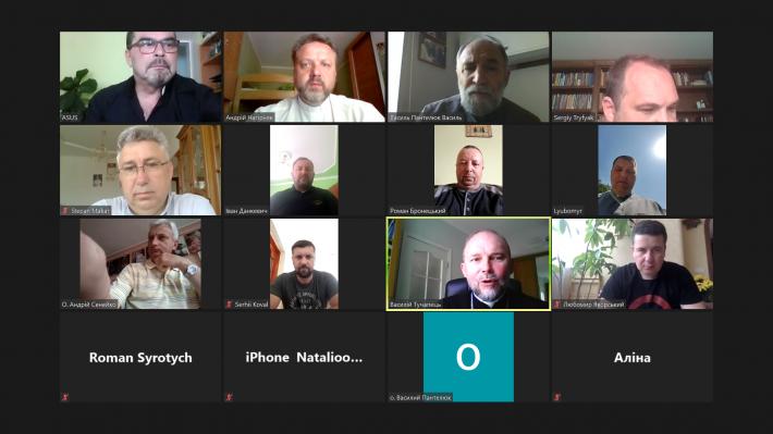 Синкели соціального служіння усіх єпархій та екзархатів УГКЦ в Україні провели онлайн-нараду, щоб послужити людям, які постраждали від повені