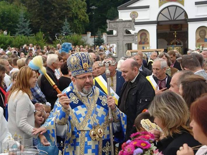 Глава УГКЦ в Уневі: «Церква ніколи не може бути державною, а завжди має бути державотворчою»