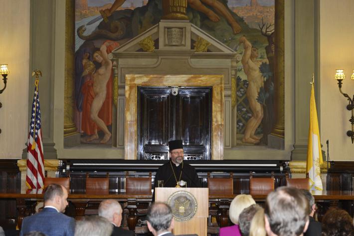 «Важливою місією нашої Церкви є підготувати серця людей до прощення та примирення», - Глава УГКЦ в Посольстві США у Ватикані