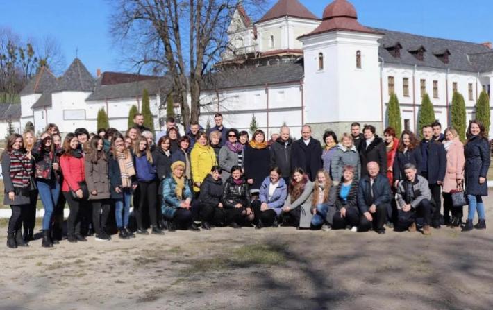 Великопісні реколекції для викладачів та студентів відбулися у Свято-Успенській Унівській лаврі