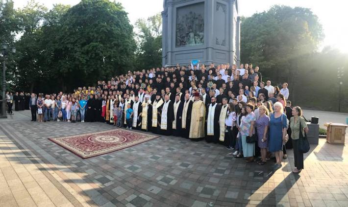 Глава УГКЦ на Володимирській гірці: «Святкувати пам'ятку Хрещення означає вернутися до джерела»