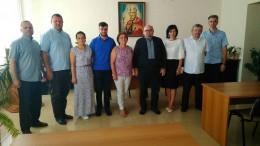 В академії Івана Золотоустого відбулася зустріч із гостею зі США