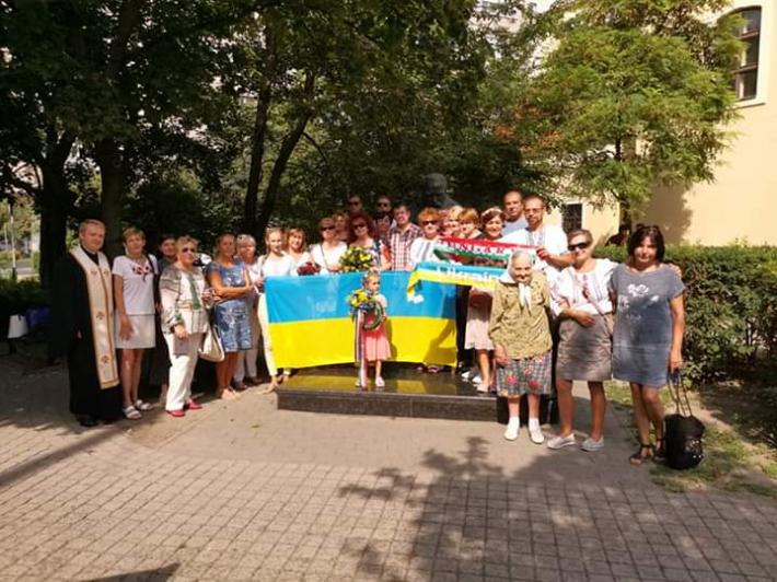 Українці в Угорщині вшанували День Незалежності