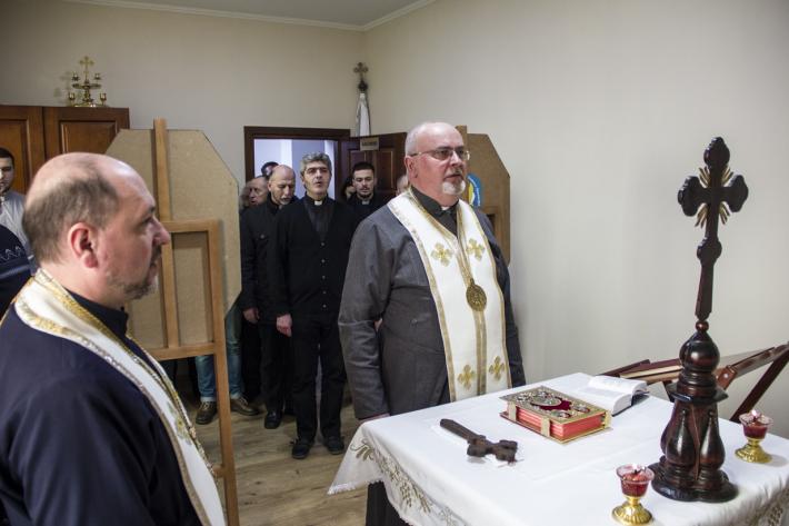 Працівники Стрийського єпархіального управління взяли участь у Подячному молебні