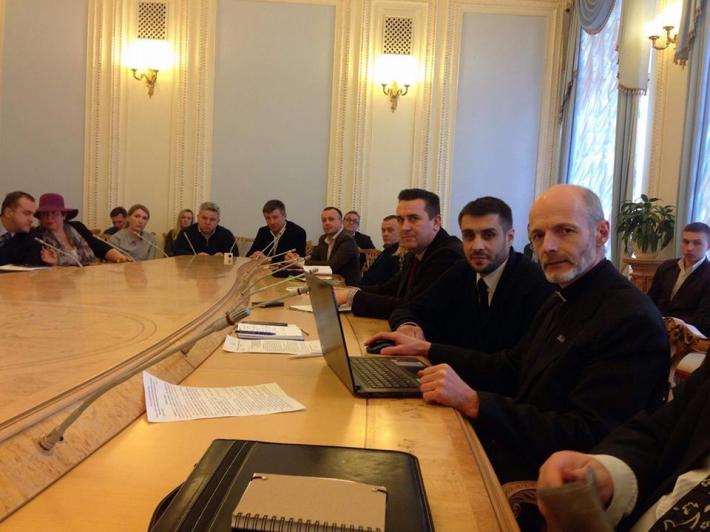 Голова Душпастирської ради з питань релігійної опіки у пенітенціарній системі України взяв участь у черговому засіданні профільного підкомітету