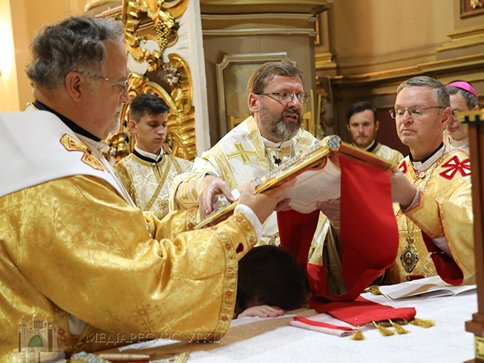 In Lviv took place episcopal ordination of Auxiliary Bishop for Philadelphia Archeparchy Andriy (Rabiy)