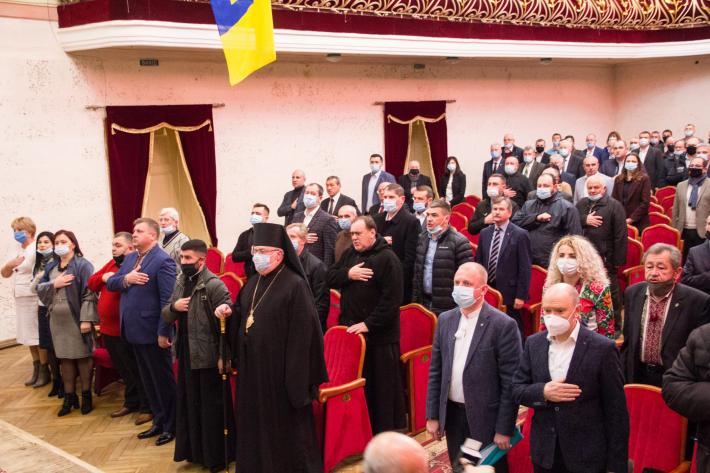 Владика Тарас Сеньків поблагословив засідання депутатів новообраної Стрийської міської ради