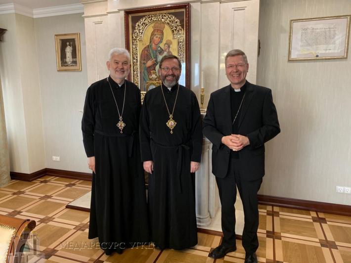 Київську архиєпархію відвідав єпископ-помічник єпархії Мюнстера (Німеччина)