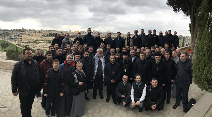 Для духовенства Київської архиєпархії провели реколекції на Святій Землі