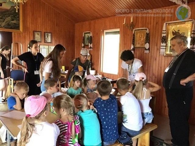 У Полтаві розпочався дитячий духовно-екологічний табір «Дороговказ: Веселі канікули з Богом»