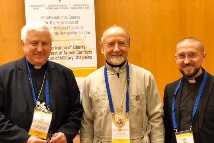 Представники УГКЦ беруть участь у формаційному курсі для військових капеланів у Ватикані