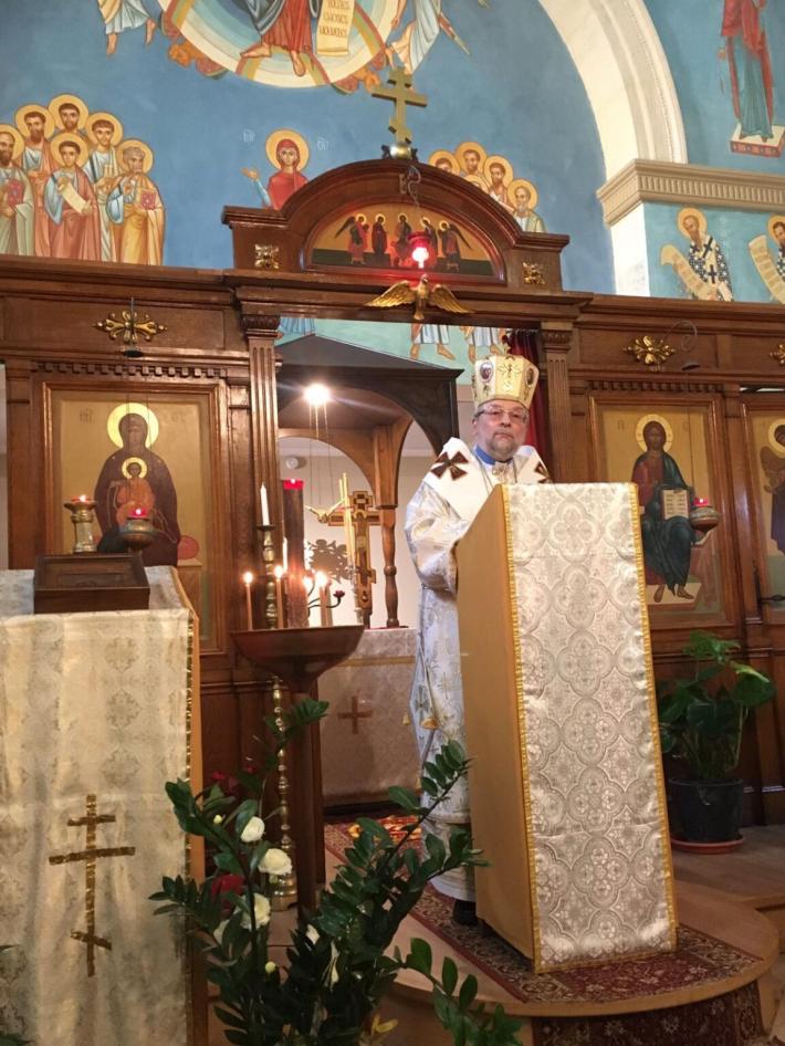 Владика Гліб Лончина відвідав візантійську парафію Святого Іринея Ліонського