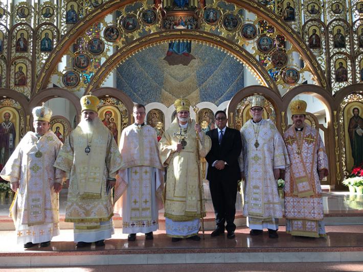 Українські греко-католицькі єпископи Американської митрополії провели чергову зустріч