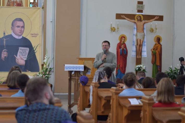Владика Володимир Груца взяв участь у ХІІІ фестивалі редемптористської молоді