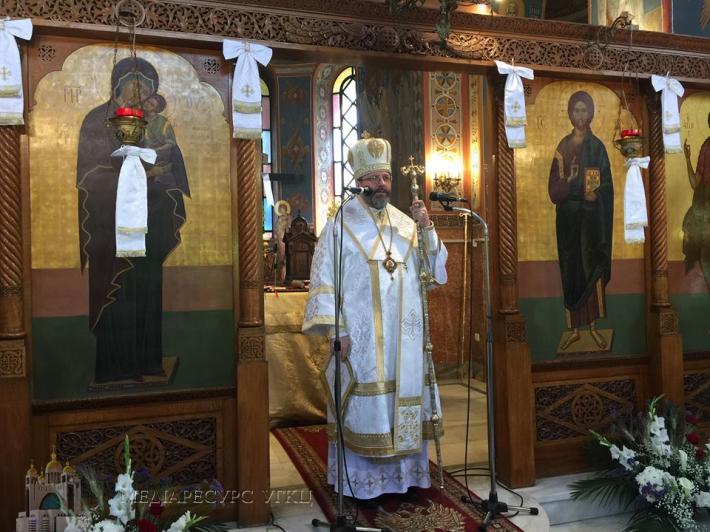 Глава УГКЦ на День матері в Афінах: «Церква – ваша мама, яка вас любить, про вас дбає, молиться і ніколи вас не забуде»