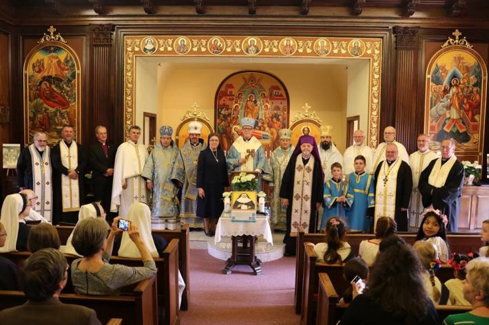 У Стемфордській єпархії вшанували пам'ять блаженної Йосафати Гордашевської