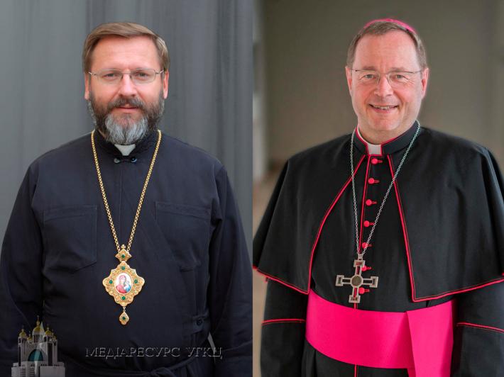 Глава УГКЦ привітав владику Георга Батцинга з обранням головою Німецької Єпископської Конференції