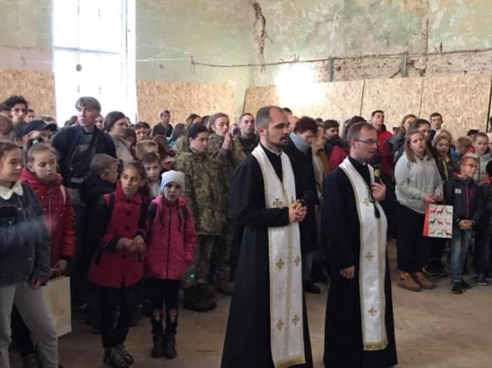 Першу Божественну Літургію звершили в Домі милосердя св. Миколая у Львові