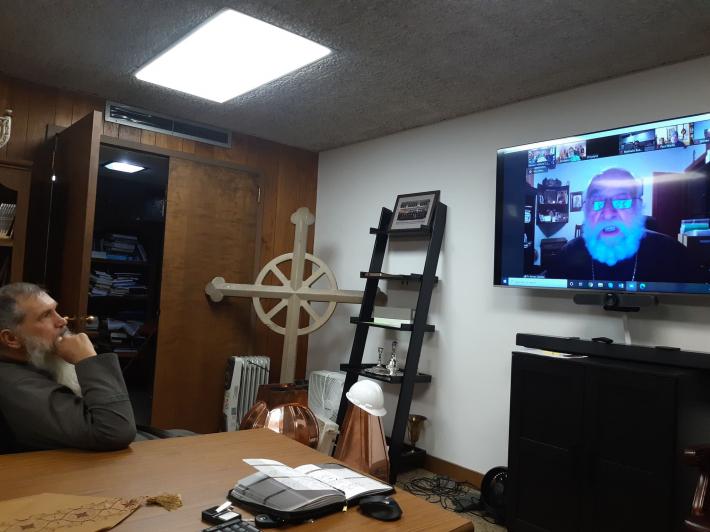 У Чиказькій єпархії святого Миколая священники та студенти Місійного інституту беруть участь у духовних конференціях