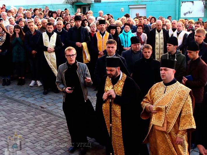 Вулицями Дрогобича пройшла Молитовна хода на захист сім'ї та життя