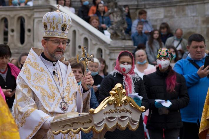 У Львові владика Богдан Дзюрах завершив дев'ятиденне моління перед іконою Матері Божої Неустанної Помочі