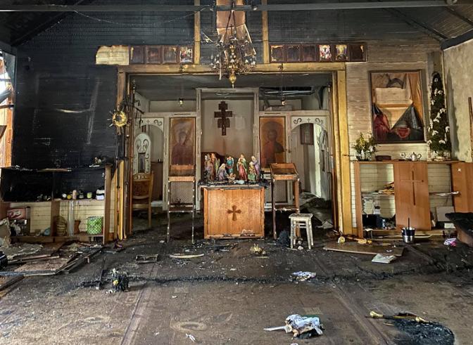У Стрию згорів храм – парох просить про допомогу
